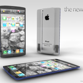 New iPhone 5 - three sides