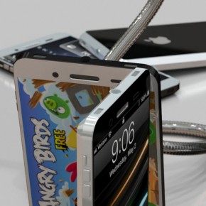 iphone 5 liquidmetal standing 2