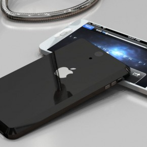 iphone 5 liquidmetal black and white