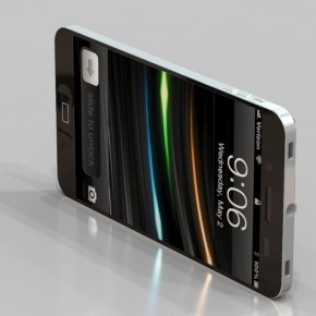 iphone 5 liquidmetal side front
