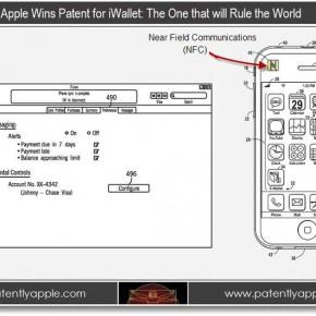 iWallet patent sketch