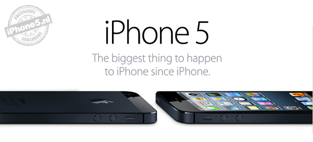 Apple hat das iPhone 5 vorgestellt